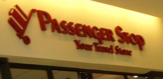 Passenger Stop store sign HomeRome.com