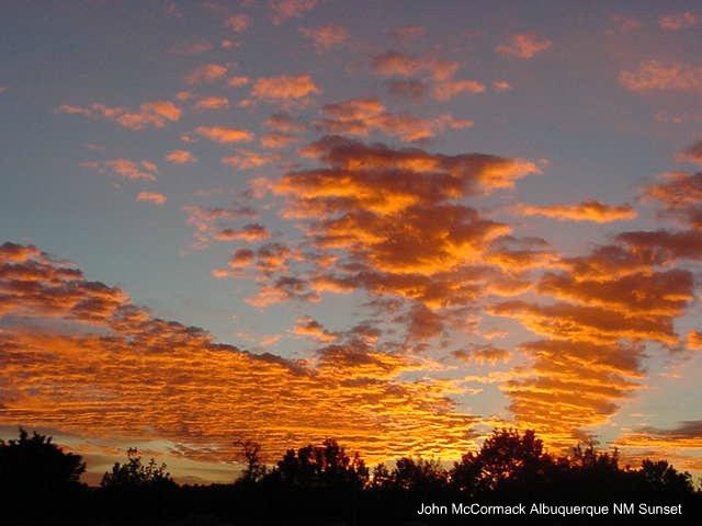 Eye Catching Albuquerue NM Sunset