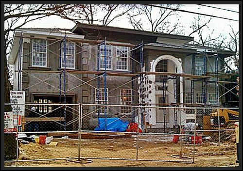 New construction in Merrick Woods