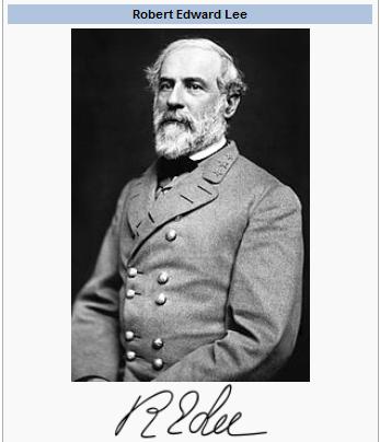 General Robert Edward Lee, CSA