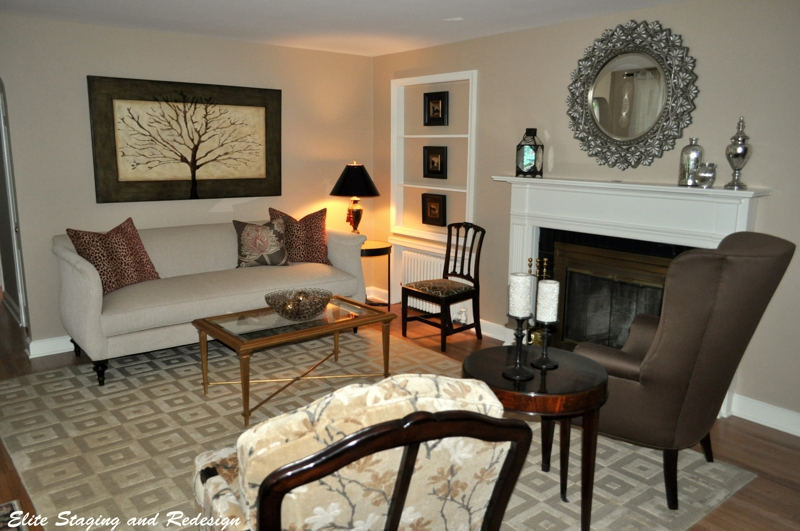 Working with family living room interior redesign before for Receiving room interior design