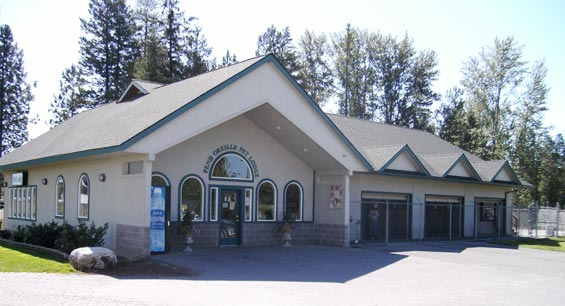 Pet Lodge at the Vets of the Pend Oreille Veterinary Services