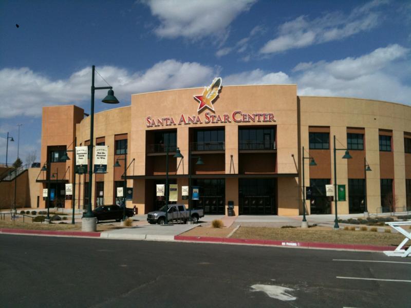 Santa Ana Star Center Near Northern Meadows