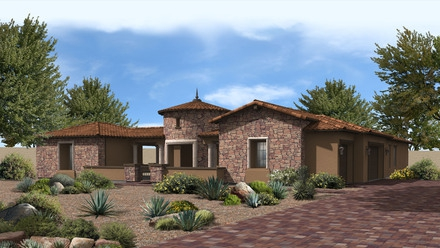 5 Bedroom Home With Guest House Weston Ranch New Homes For Sale Gilbert Real Estate
