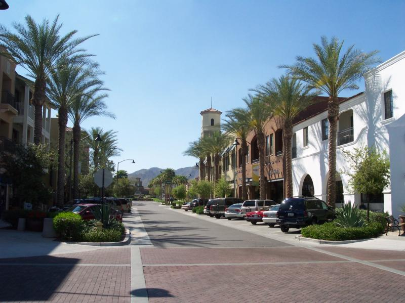 Main Street in Verrado Buckeye Arizona