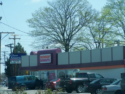 The First Dunkin Donuts