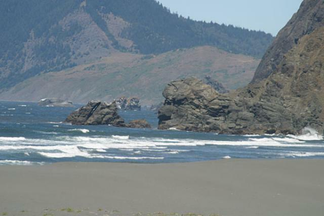 Arizona Beach State Recreation Site Port Orford Or