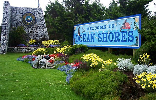 The Gate to Ocean Shores, WA