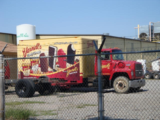 Yarnell's painted truck