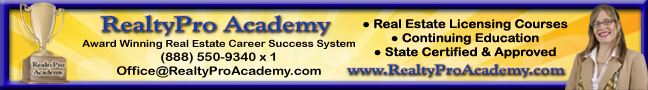 RealtyPro Academy online training courses for real estate agents
