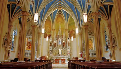 beautiful catholic church