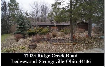 Cleveland Ohio Homes For Sale 17033 Ridge Creek Rd