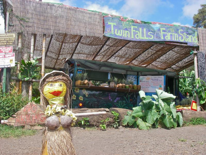 Silent Saturday - Twin Falls Farm Stand - Haiku Maui HI 96708