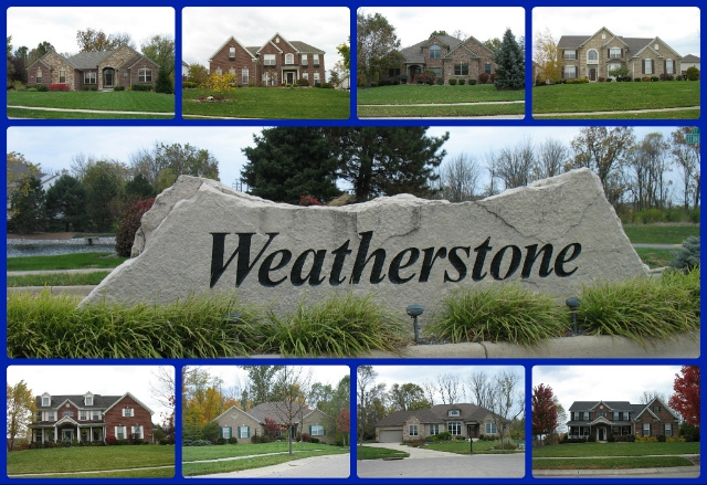 Weatherstone community of Mason Ohio 45040