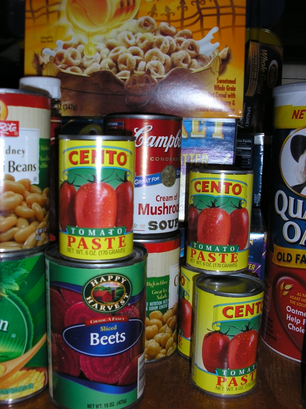 Give to your local Food Bank