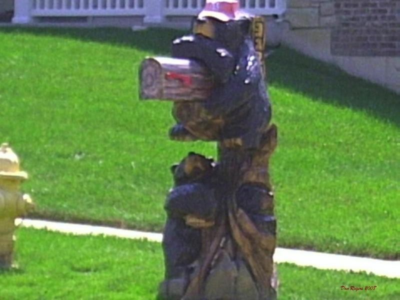 unique bear creek mailbox in wentzville mo a mailbox series update