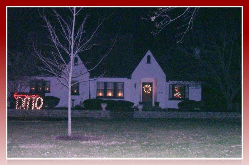 Christmas Lights in Lewisburg, WV