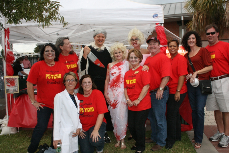 Keller Williams Crew at the Gumbo Cook off 2009
