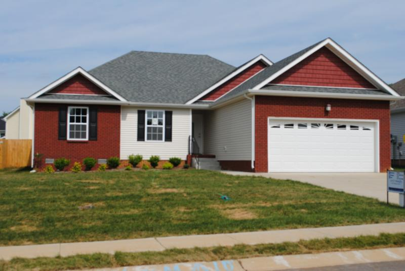 Welcome to 2625 arthurs ct in clarksville tn camelot for New construction homes in clarksville tn