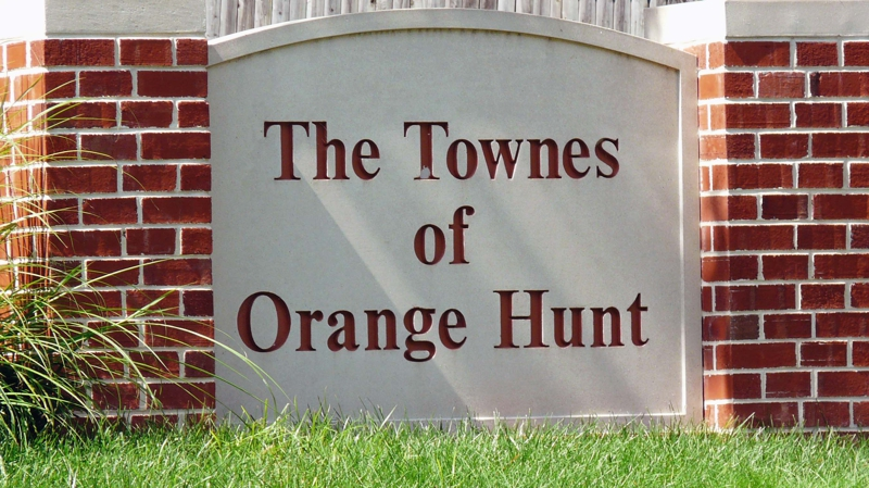 Townes of Orange Hunt Entry