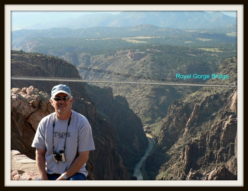 John McCormack At Royal Gorge Bridge