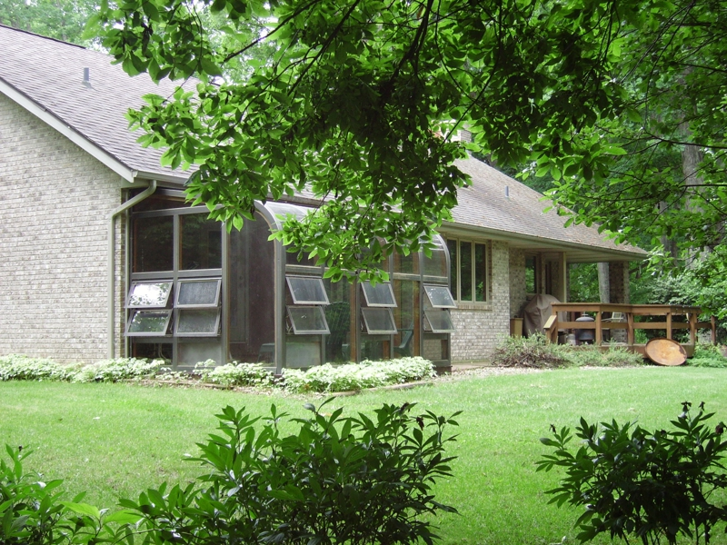 West Lafayette home for sale close to Purdue University with large acreage of woods and creek near West Lafayette offered by Sharon and Bruce Walter Keller Williams Realty Lafayette, IN
