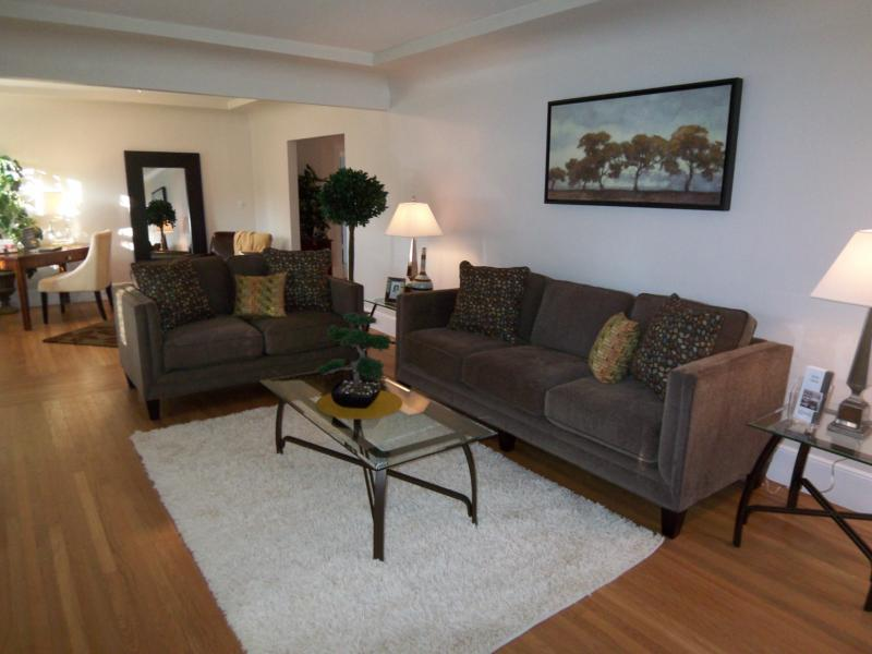 Classic sacramento living brite ideas home staging for Staged living room ideas