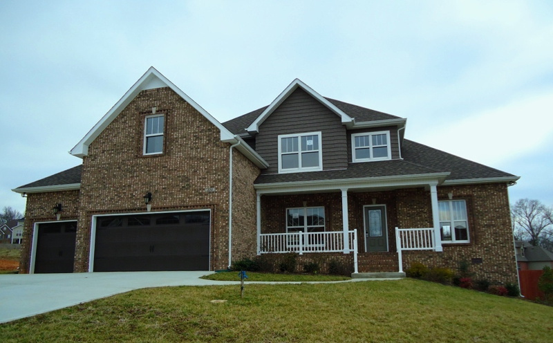 Homes with 3 car garages in clarksville tn for Homes with three car garages