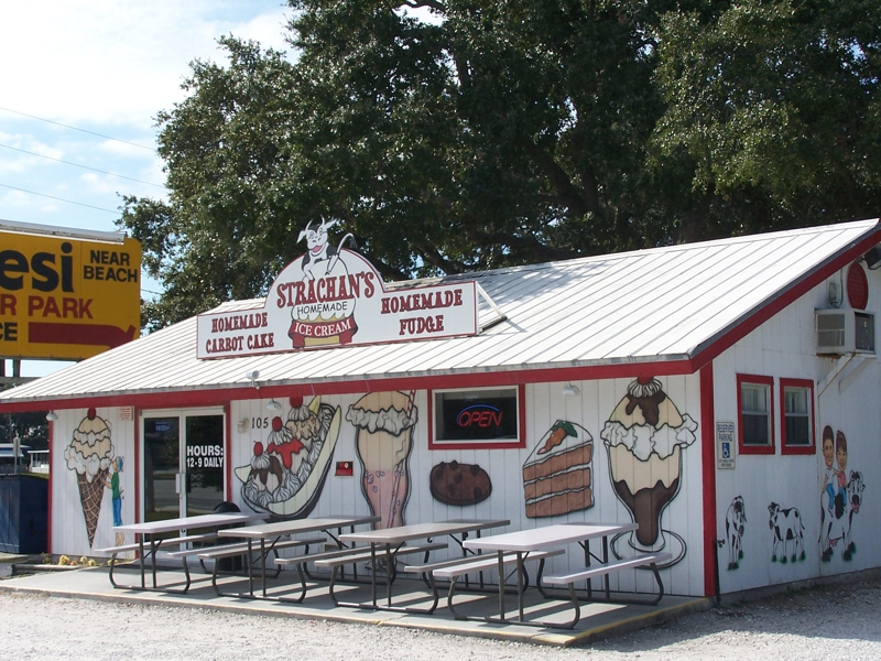Strachan's Ice Cream, Palm Harbor Florida
