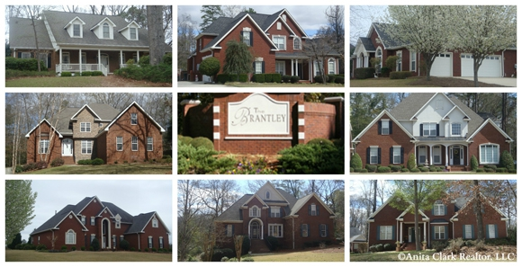 Homes For Sale In The Brantley Subdivision In Warner Robins Ga