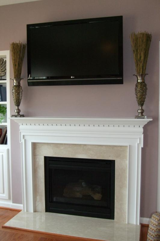 New home trends fireplace mantle and surround styles Fireplace surround ideas