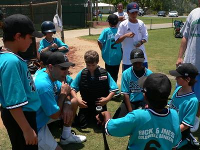 Rick & Ines sponsored baseball team