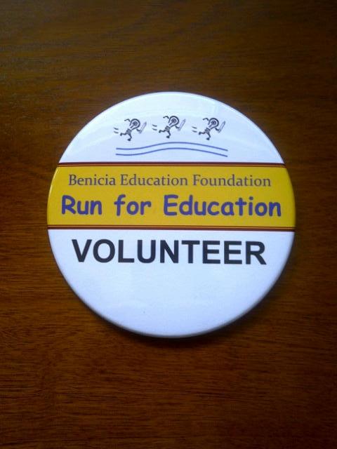Benicia Education Run Volunteer