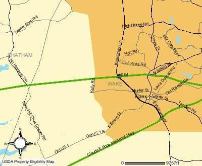 usda loans wake county