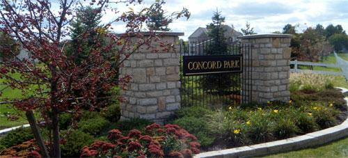 Concord Park Grove City Ohio New Homes Rockford Homes