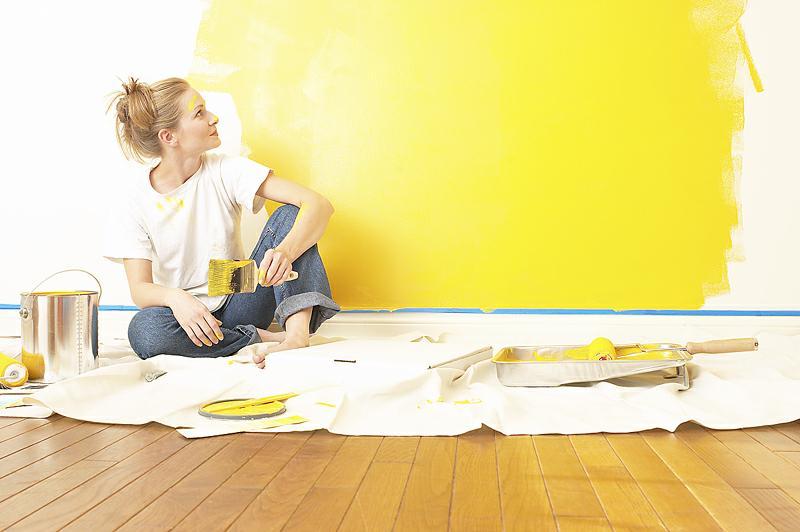 Fresh paint helps sell homes!