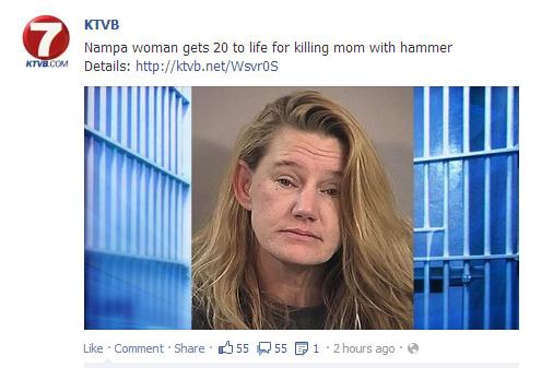 Hammer murder conviction Idaho