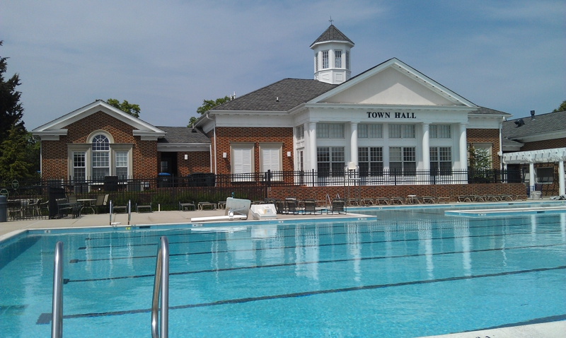 South Riding Town Hall Pool House