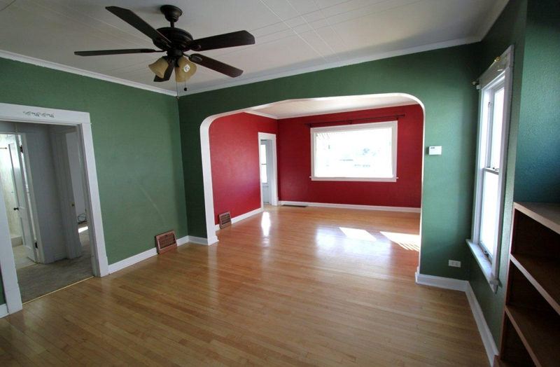 Northside craftsman house for sale in great falls montana - The living room great falls mt ...
