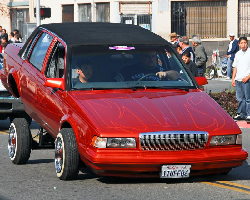 Low Rider in Fresno's Chinatown Parade