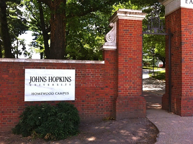Hopkins Homewood Campus Gate