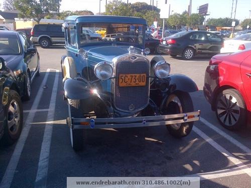 Classic Car loving Realtor Endre Barath,Jr.