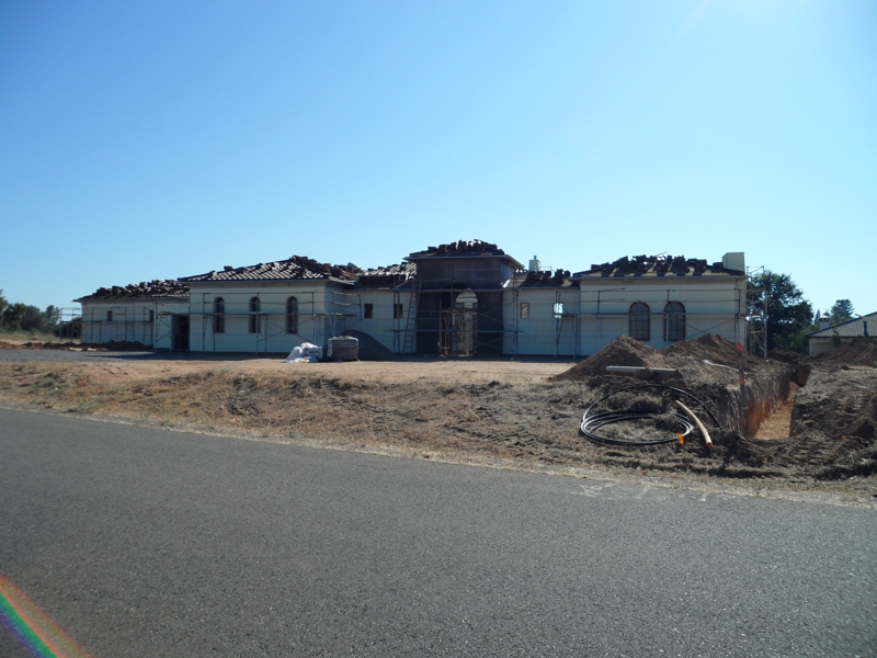 New custom home construction at Terracina Estates (Loomis, CA 95650)