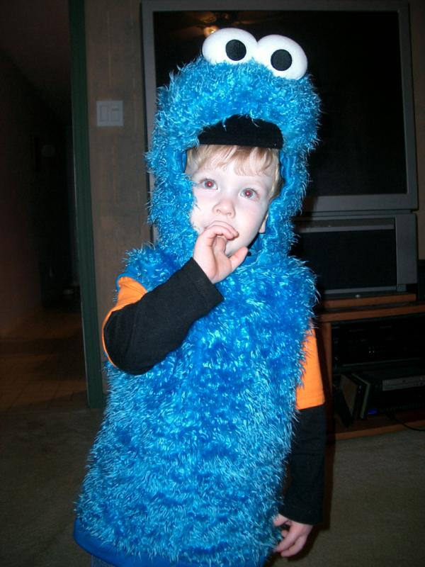 Cookie Monster on the prowl