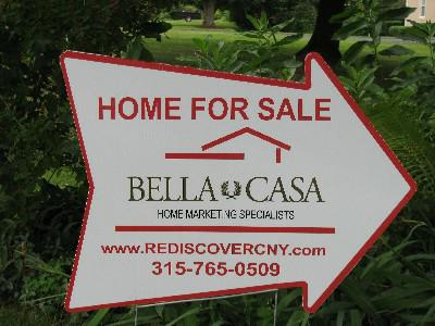 Bella Casa's Home For Sale Directional Sign