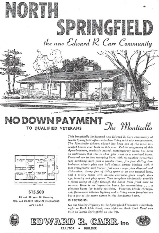 North Springfield Zero Down Payment