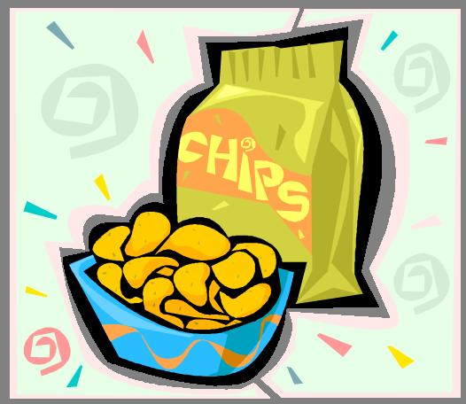 Free Clip Art Potato Chips Bag