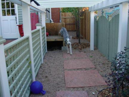Home staging portland style home staging tips for pet for Dog kennel in garage ideas