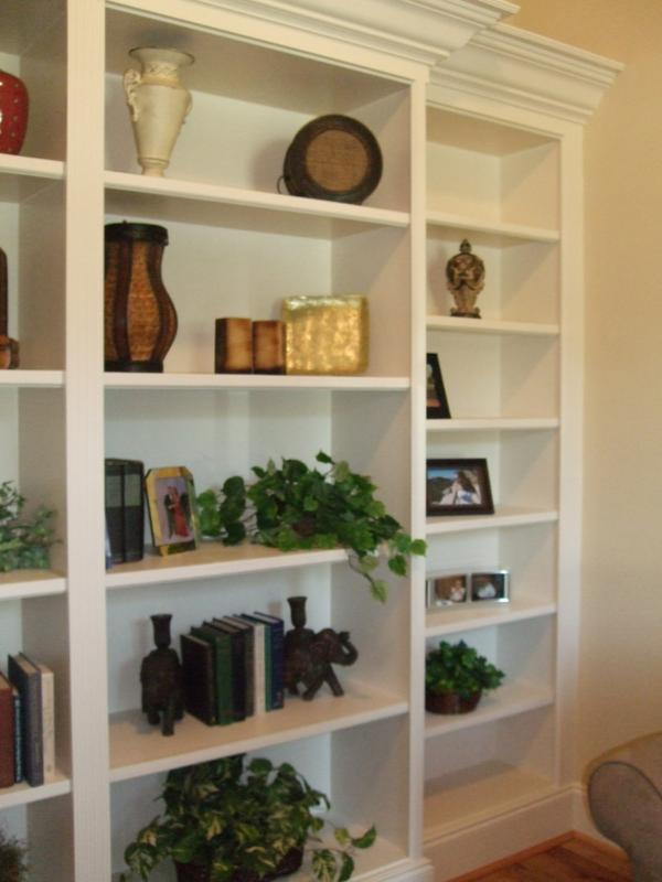 Built In Bookcase Ideas And Pictures New Home Trends Homes Raleigh Nc