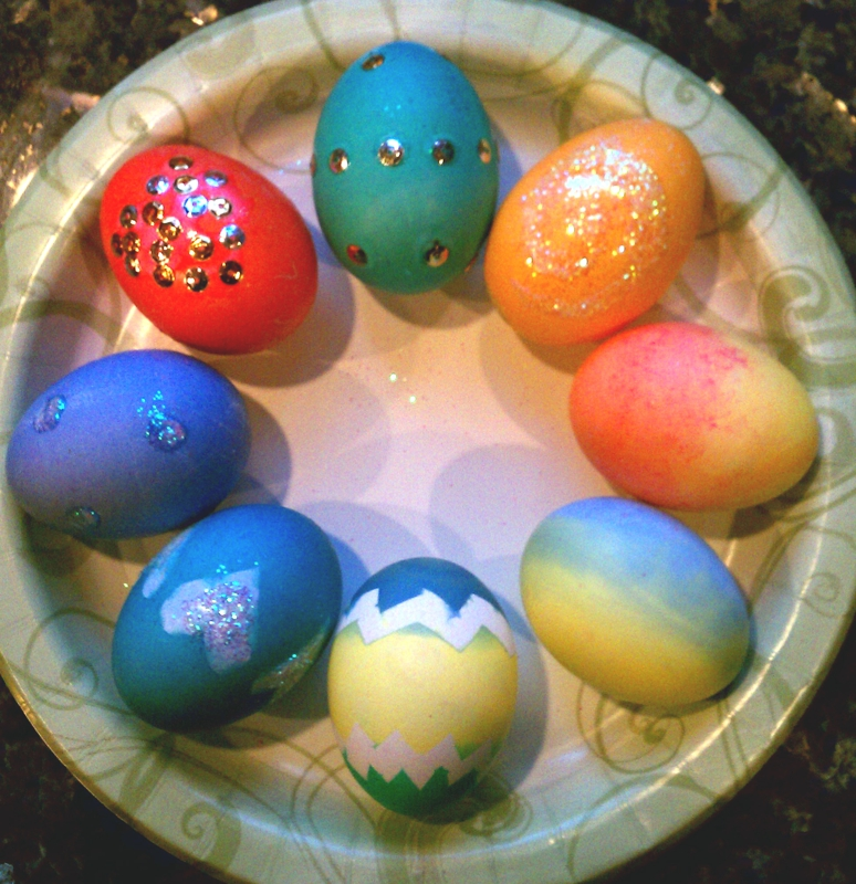 vincenza colors eggs